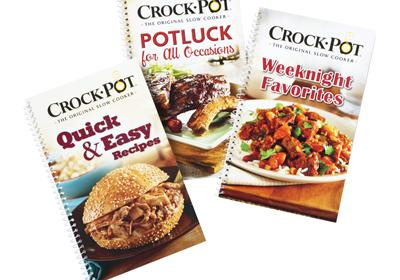 Quick Crockpot Meals (Set of 3)