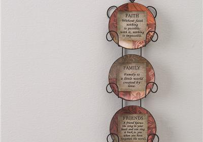 FFF Inspirational Wall Plaques